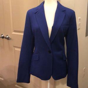 NWT Talbots Kate Fit blue blazer